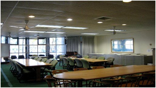 Includes Conference Tables And Chairs That Can Be Rearranged A Pull Down Projection Screen Projectors Available From Rcf Or Gso Whiteboard Podium