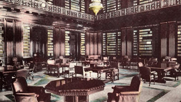 Biblioteca Congresional, Capitolio Nacional, Habana, Cuba