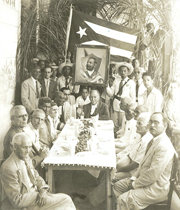 Group of mambises (Cuban Independence War soldiers)