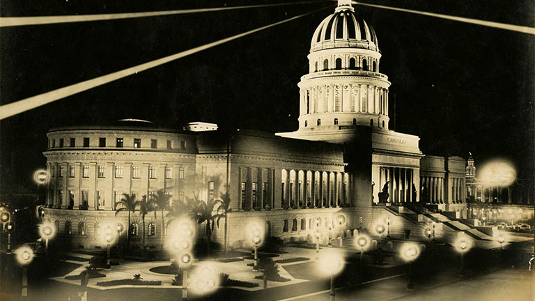 The Capitol building in Havana, Cuba